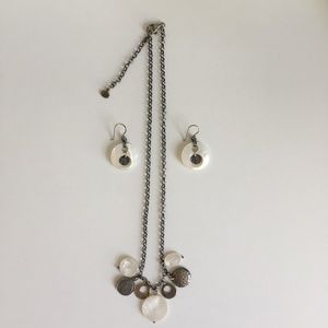 Silpada 925. Necklace and Earring Set